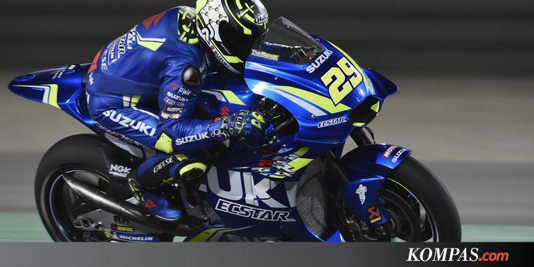 Marc Marquez dan Andrea Iannone Tercepat pada Latihan Bebas