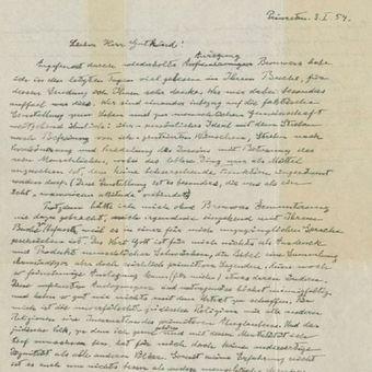 Surat Tuhan tulisan tangan Einstein