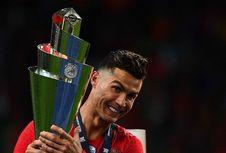 Usai Juara UEFA Nations League, Cristiano Ronaldo Targetkan Euro 2020