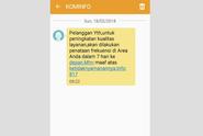 Sebar SMS Penataan Jaringan, Ini Penjelasan Kominfo