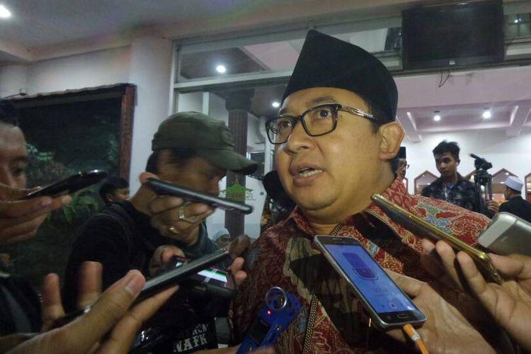Wakil Ketua DPR RI Fadli Zon di Kompleks Parlemen, Senayan, Jakarta, Jumat (9/6/2017).