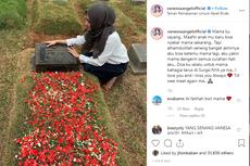 Ziarah ke Makam Ibunda, Vanessa Angel Minta Maaf