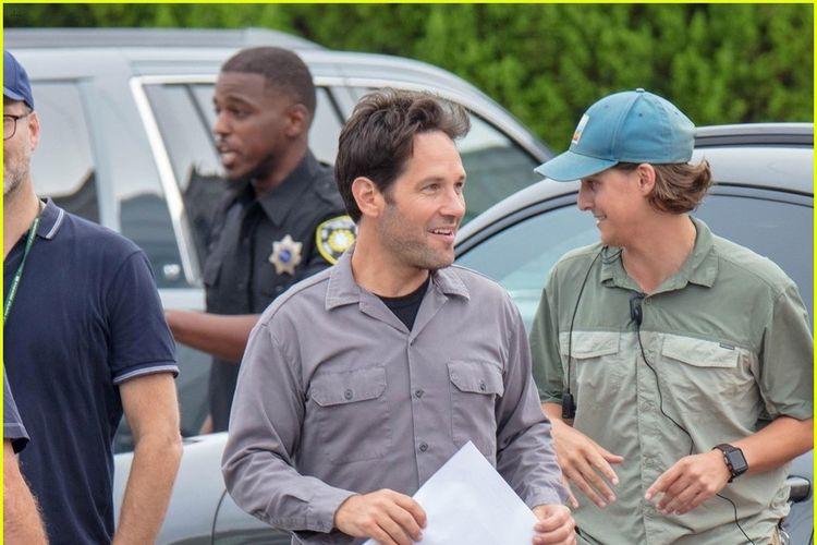 Paul Rudd berperaan sebagai Ant-Man dalam Avengers 4 sedang berada di lokasi shooting.
