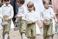 Pangeran George dan Putri Charlote Jadi Pengiring Pengantin Harry-Meghan
