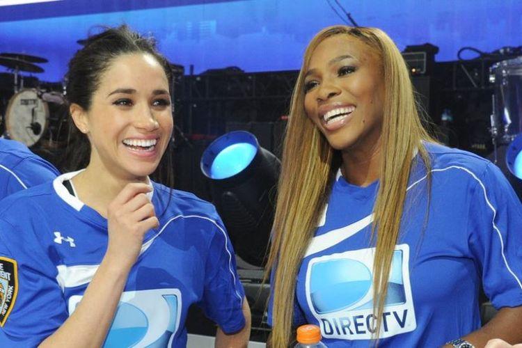 Meghan Markel dan Serena Williams