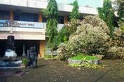 Kaget Ada Puting Beliung, Seorang Dosen di Yogyakarta Pingsan