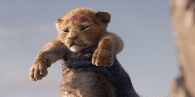 Film produksi Walt Disney Studios, The Lion King, yang akan dirilis pada 19 Juli 2019.