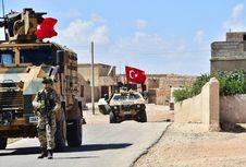 Suriah Kecam Patroli Militer Turki di Kota Manbij