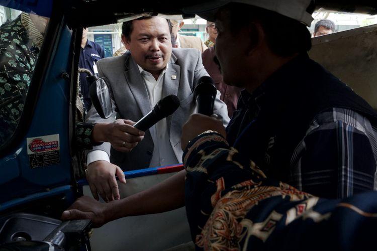 Anggota Komisi Energi DPR RI berkunjung ke kantor pusat PGN di Jakarta, Selasa (13/2/2018).