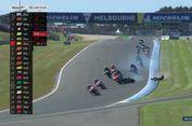 Zarco Jatuh, Marc Marquez 'Out' di GP Australia (Live MotoGP)