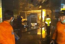 Kebakaran di Bandara Ngurah Rai, Terminal Domestik Lumpuh