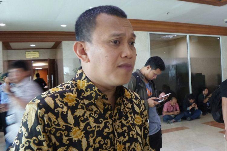Sekretaris Jenderal PKB Abdul Kadir Karding di Kompleks Parlemen, Senayan, Jakarta, Rabu (15/3/2017).
