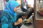 Usai Kunjungi Pasar Tradisional, Khofifah Sahur Bersama Pedagang