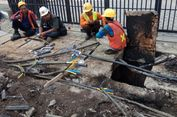 Ledakan Kecil di Jalan Fatmawati Terjadi akibat Kabel yang Mengelupas