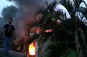 Sebuah Gudang Bank BNI di Kota Palopo Terbakar