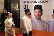 Tiba di Lokasi Debat, Jokowi-Ma'ruf Sama-sama Berbaju Putih