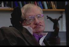 Meski Idap ALS, Stephen Hawking Mampu Bertahan 55 Tahun dan Punya Anak