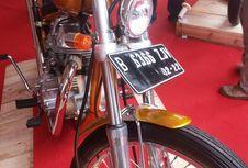 Motor Chopper Jokowi Sudah Pakai Spatbor