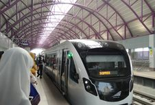 Integrasi LRT Palembang dan BRT Hanya Satu Kali Bayar, Ini Tarifnya