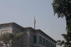 Pucuk Miring, Warga Dilarang Melintas di Sekitar Menara Masjid JIC Koja