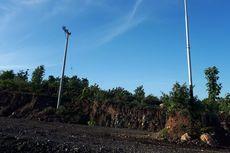 Tiang Listrik Ganggu Pembangunan Sabuk Merah Perbatasan