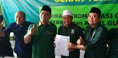 PKB Serahkan Surat Rekomendasi,Dukungan Untuk Pasangan Ridwan Kamil-Uu Rhuzanul Ulum di Pilkada Jabar Komplit