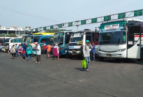 Banyak Mudik Gratis, Pendapatan Perusahaan Bus Turun Drastis
