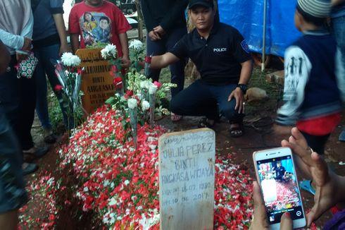 Rumput Makam Julia Perez Rusak, Keluarga Keluarkan Imbauan