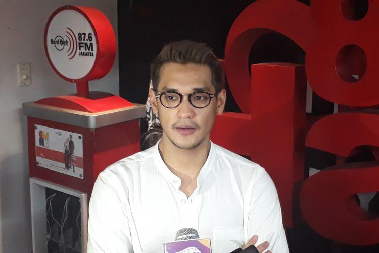Afgansyah Reza dijumpai dalam sebuah kegiatan di Gedung Sarinah, Jakarta Pusat, pada Rabu (21/6/2017).