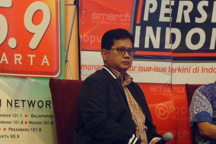 Wakil Ketua Komisi IV DPR Viva Yoga Mauladi di Menteng, Cikini, Jakarta, Sabtu (29/7/2017).