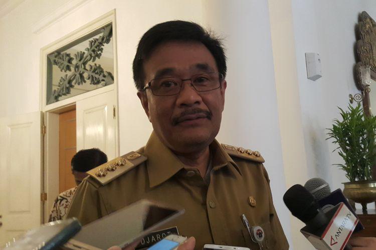 Gubernur DKI Jakarta Djarot Saiful Hidayat di Balai Kota DKI Jakarta, Jalan Medan Merdeka Selatan, Selasa (1/8/2017).