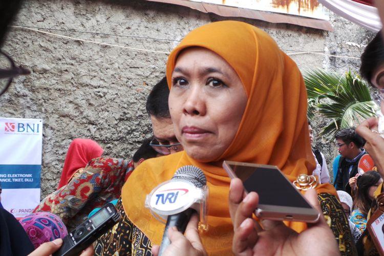 Menteri Sosial Khofifah Indar Parawansa