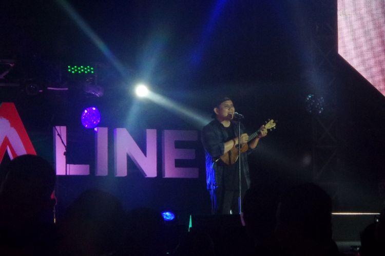 Musikimia tampil dalam Soundrenaline 2017 di Garuda Wisnu Kencana, Bali, Minggu (10/9/2017) malam.