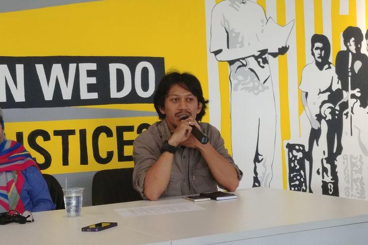 Kepala Divisi Pemantauan Impunitas Komisi untuk Orang Hilang dan Korban Tindak Kekerasan (Kontras) Feri Kusuma