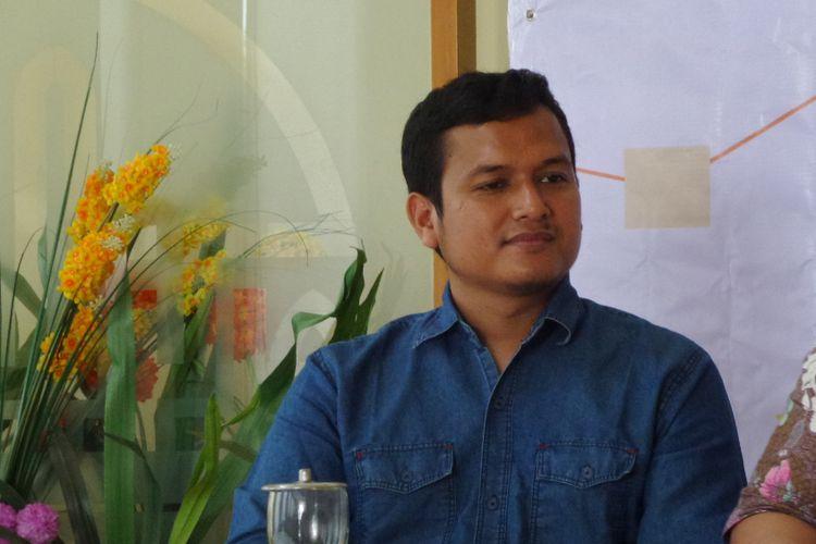 Ketua Bidang Politik DPP PKS Pipin Sopian dalam diskusi di kantor DPP PKS, Jakarta, Selasa (24/10/2017).