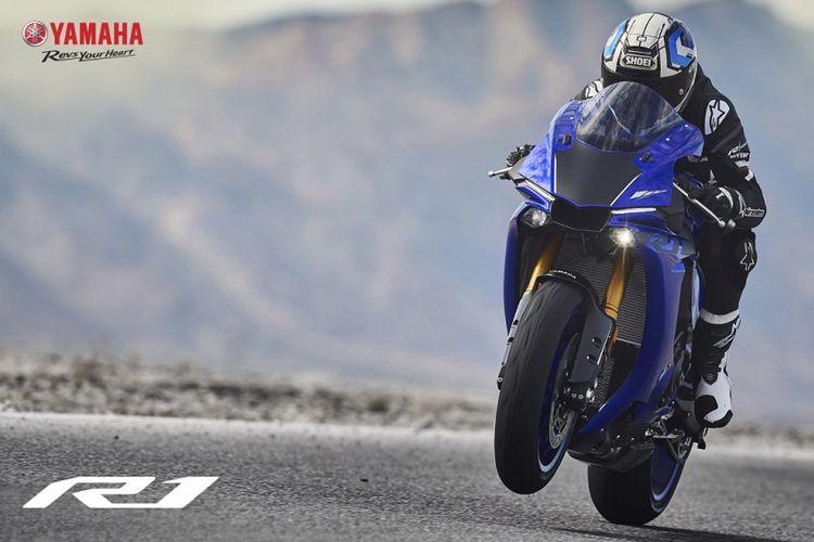 Yamaha R1 terbaru untuk pasar India.