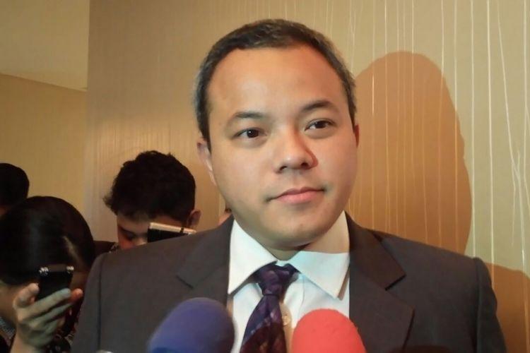 Kepala ekonom Standard Chartered Bank Indonesia Aldian Taloputra di Jakarta, Senin (22/1/2018).
