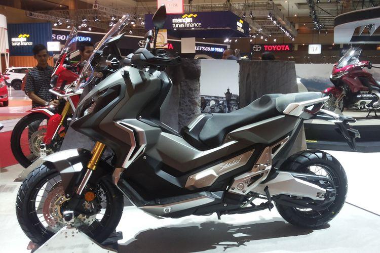 X-ADV, skuter adventure yang diperkenalkan Honda di Indonesia International Motor Show (IIMS) 2018.