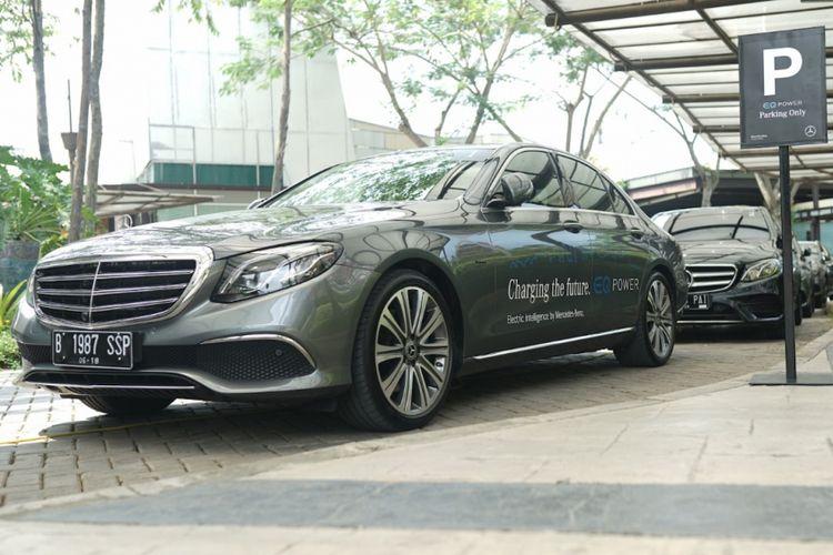 Mobil Listrik Mercedes-Benz Bisa Saja Rakitan Indonesia