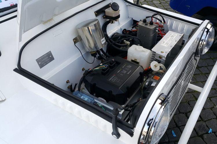 Mesin Mini Moke yang Pakai Mesin Listrik