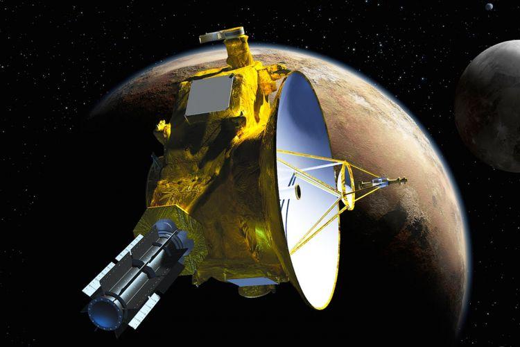 Ilustrasi New Horizons