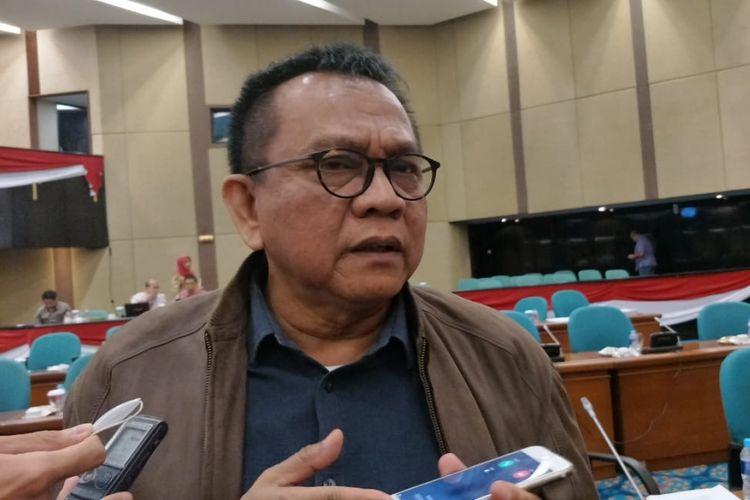Wakil Ketua DPRD DKI Jakarta Mohamad Taufik di gedung DPRD DKI Jakarta, Jalan Kebon Sirih, Jakarta Pusat, Kamis (13/9/2018).