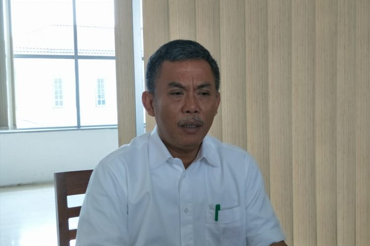 Chairman of DKI Jakarta DPRD Prasetio Edi Marsudi at DKI Jakarta DPRD Building, Jalan Kebon Sirih, Central Jakarta, Monday (11/12/2018).