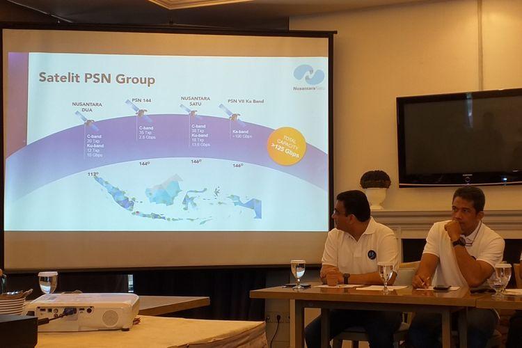 PT Pasifik Satelit Nusantara akan meluncurkan Satelit Nusantara Satu di Florida, AS, pada Februari 2019.