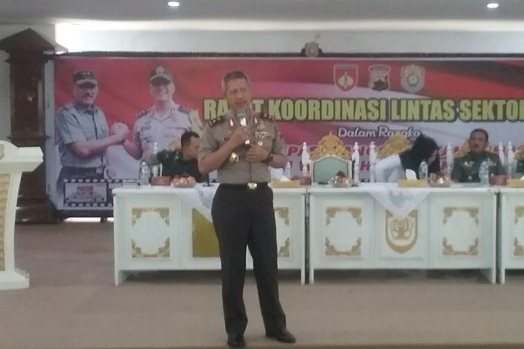 Kapolda Jawa Tengah, Irjen Polisi Condro Kirono. KOMPAS.Com/SLAMET PRIYATIN
