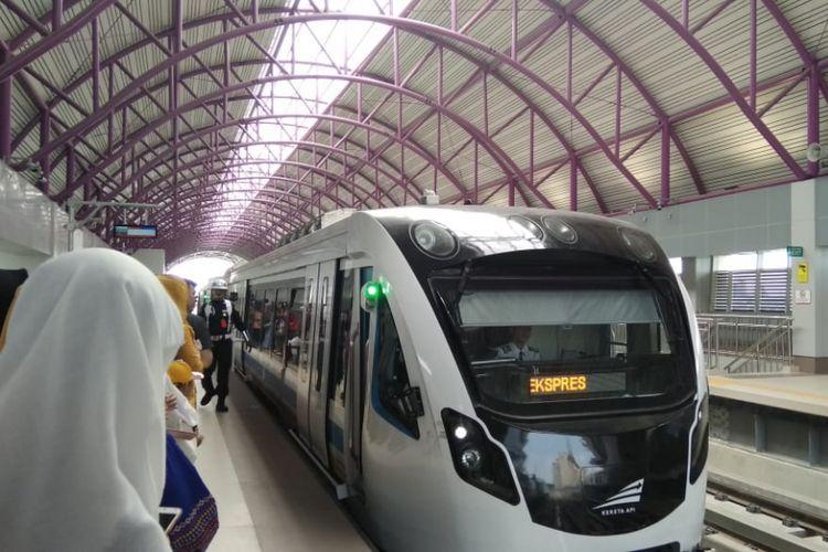 Light Rail Transit (LRT) Palembang telah menetapkan sistem integrasi dengan BRT untuk menarik minat masyarakat, Jumat (22/2/2019).