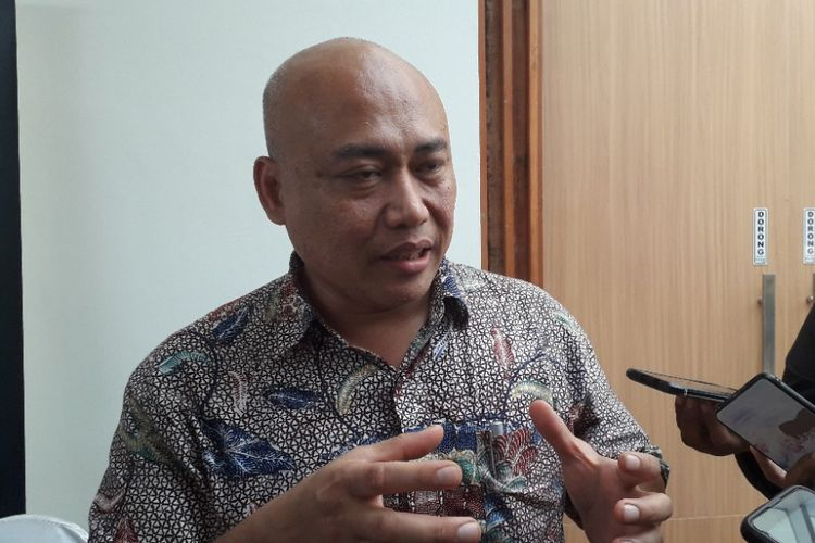 Peneliti Pusat Penelitian Geoteknologi LIPI Eko Yulianto setelah menghadiri diskusi Amankah Jakarta dari Tsunami? di Ancol, Kamis (28/2/2019).