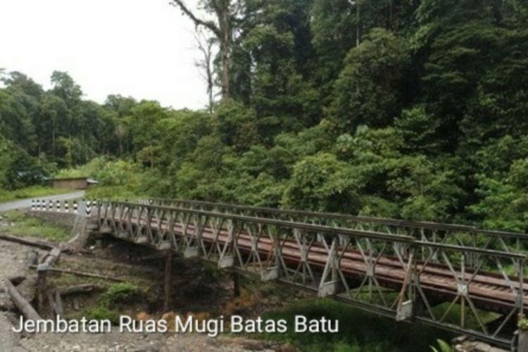 Lokasi pembantaian 31 pekerja oleh Kelompok Kriminal Bersenjata (KKB) di Nduga, Papua.