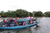 Yang Baru di Gresik, Wisata Keliling Bengawan Solo Naik Perahu...