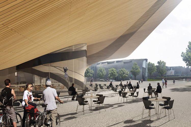 perpustakaan ini menjadi proyek andalan untuk menyambut 100 tahun kemerdekaan Finlandia.
